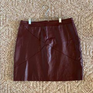 Dresses & Skirts - Burgundy Skirt
